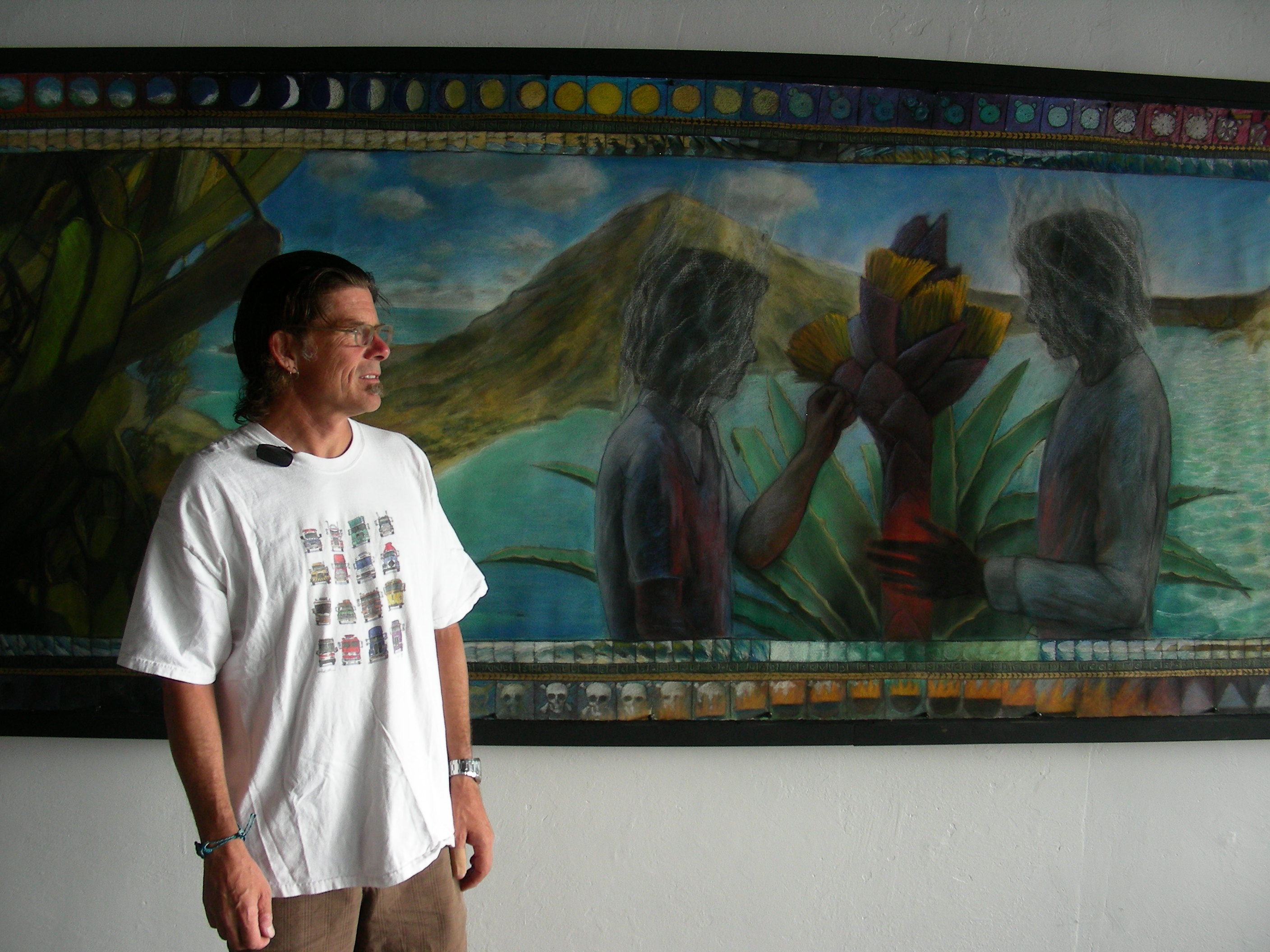 Life Cycles: Artist Steve Shriver took a tumble, and it's an arduous climb back up