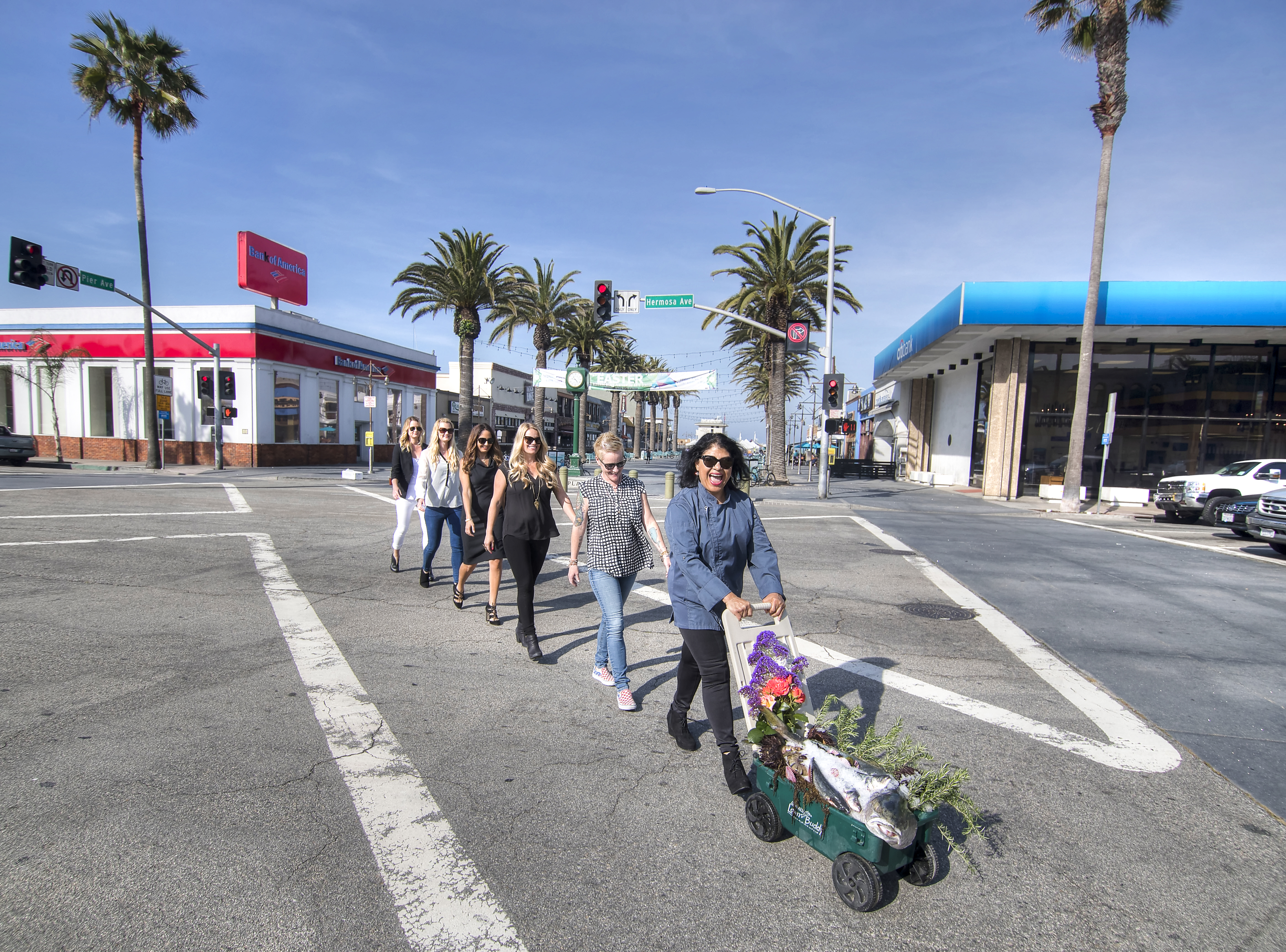 SHE'S IN CHARGE: Women restaurateurs in Hermosa Beach are owning the game