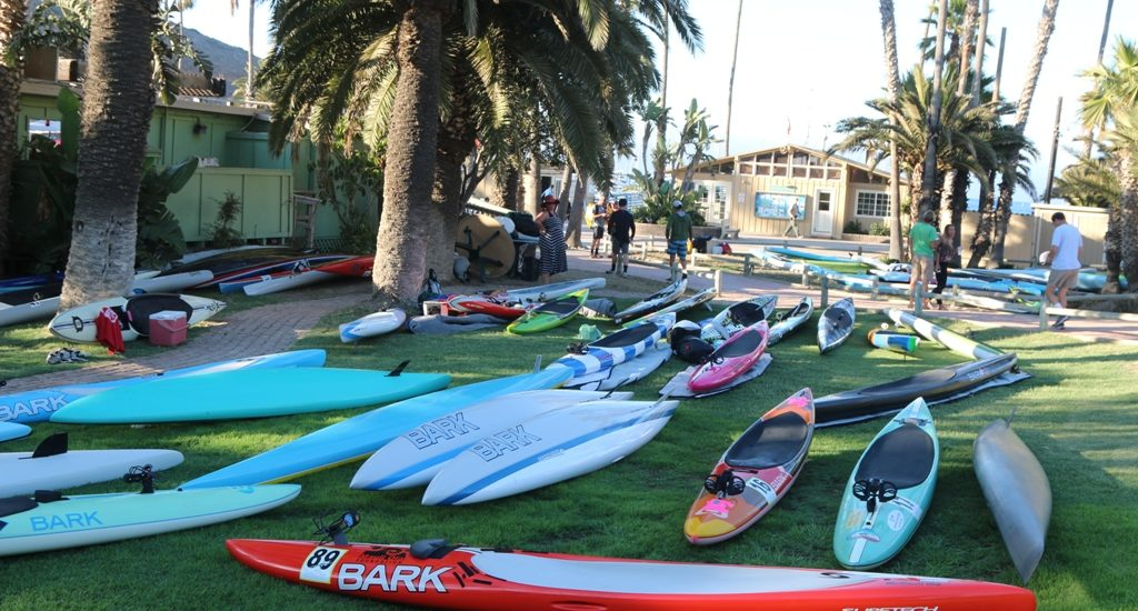 Channel challenges paddlers in 2017 Catalina Classic Paddleboard Race