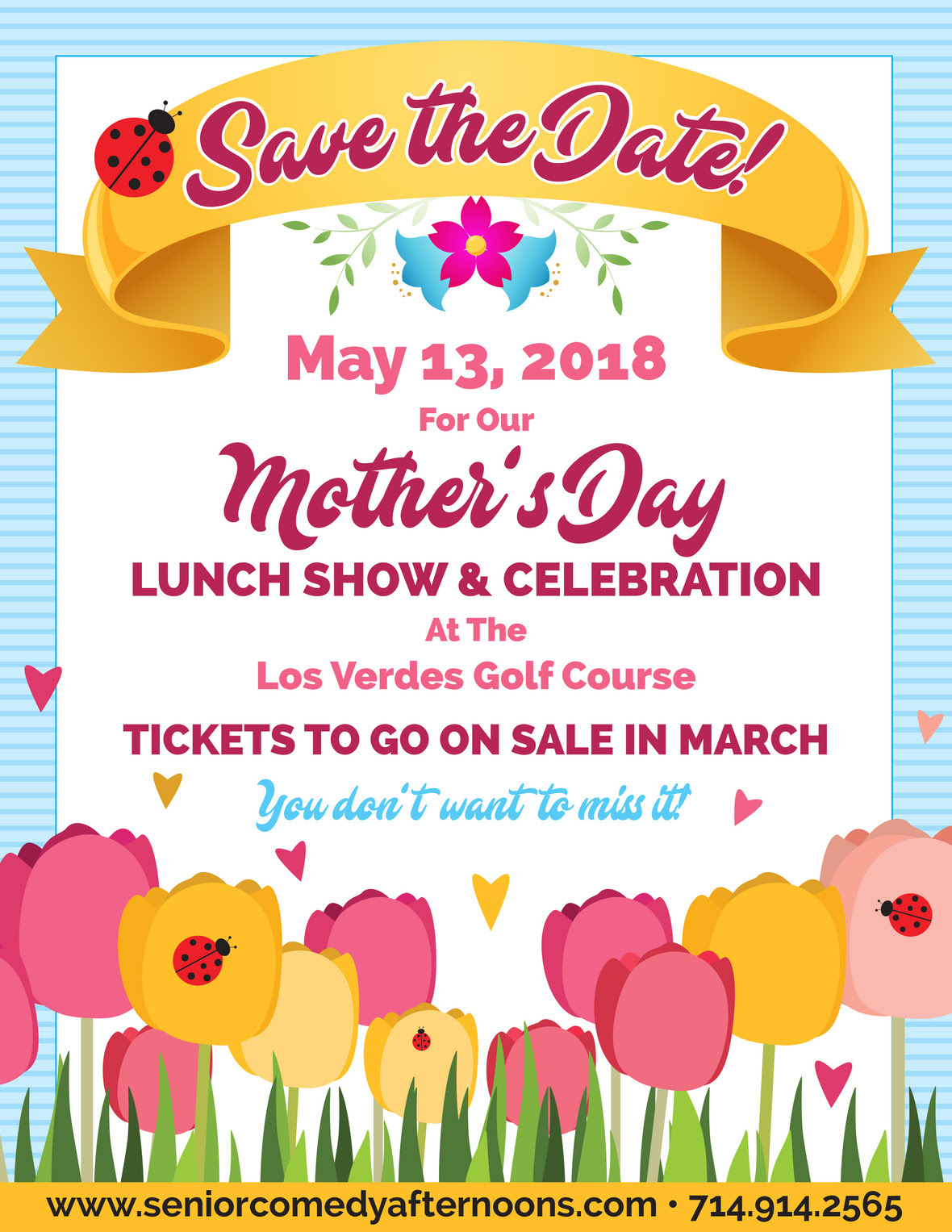 Mother's Day Lunch Show & Celebration @ Los Verdes Golf Course | Rancho Palos Verdes | California | United States